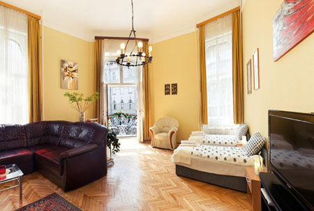 FOR RENT: Apartment Bizet, Budapest