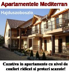 Hajduszoboszlo Apartementele Mediterran