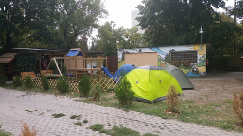 Budapest Haller Camping