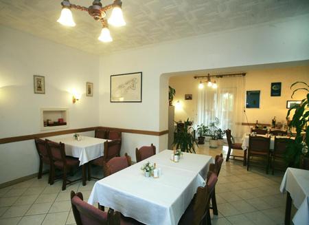 Budapest Pestújhely Panzió - Étterem