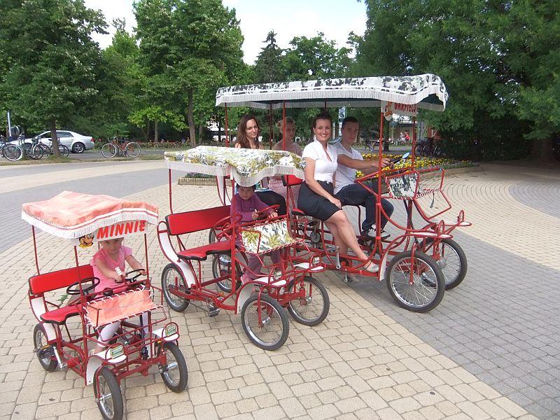 Bringó Hintó biciklizés Hajdúszoboszló nyaralás  programok