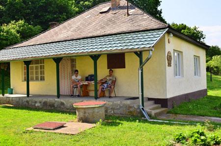 Casa de oaspeţi şi iurtele Darnói