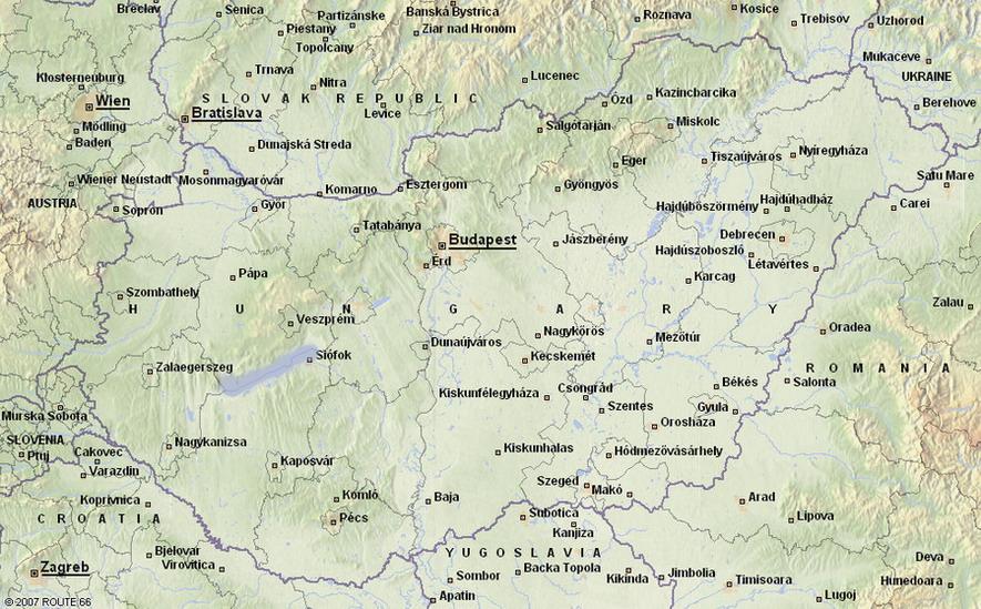 magyarország térkép esztergom Magyarország térkép, észak Magyarország, Balaton Régió, észak  magyarország térkép esztergom